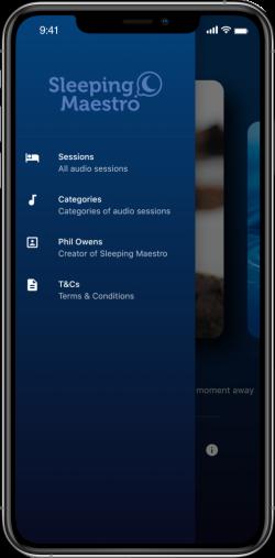 Sleeping-Maestro-App-Screen-Navigation